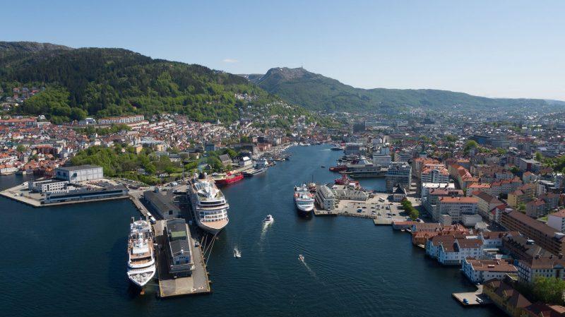 Cruiseskipshavnen i Bergen Havn